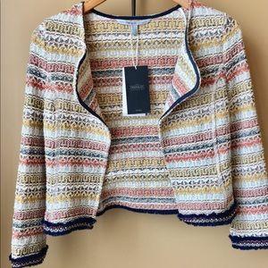New Zara Trafaluc Outerwear Moroccan fringe jacket